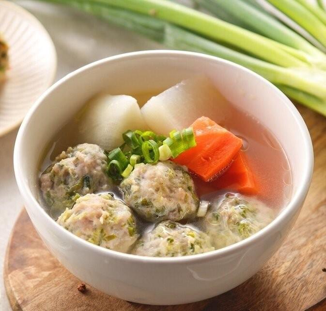 【丹尼廚房】凱子料理手工豬肉丸-原味口味-600g±5%