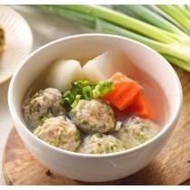 【丹尼廚房】凱子料理手工豬肉丸-芋頭口味-600g±5%